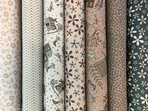 12 Metres of Gorgeous Mixed Shabby Chic Seam binding Neutrals