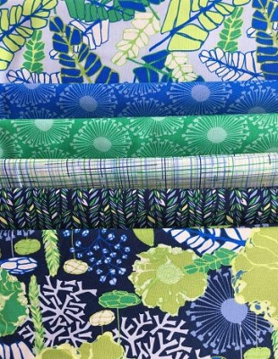 Bali Batik 100/% Cotton Fabric in Yellow FQ Quilting Patchwork Crafting